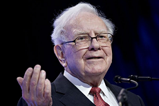 证券股票量化交易市场行情沃伦·巴菲特(Warren Buffett)成为1000亿美元俱乐部的第六名成员