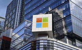 微软跳升后,道琼斯飙升400点至新高。股市上涨报告