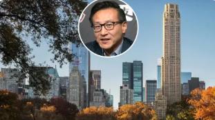 阿里巴巴的蔡崇信斥资 1.575 亿美元购买曼哈顿复式顶层公寓
