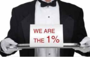 1% 的平均净资产